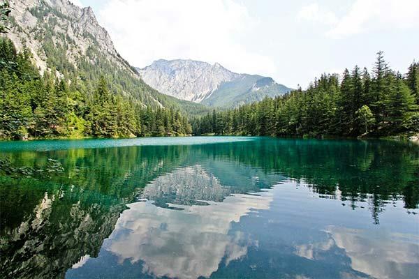 Чистое озеро во сне