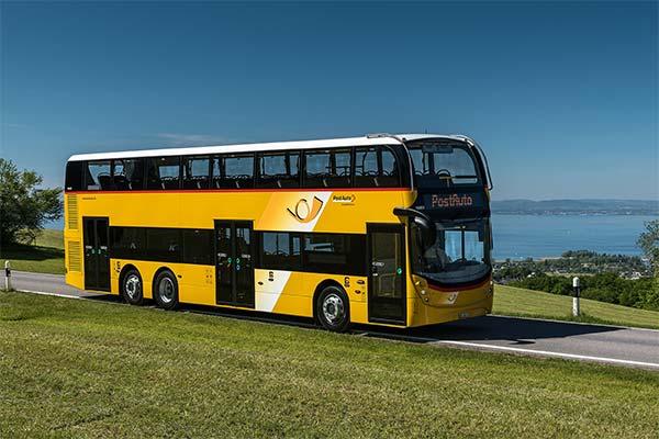 Двухэтажный автобус во сне