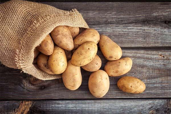 Где находилась во сне картошка