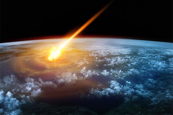 Куда во сне упал метеорит