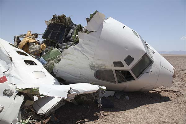 Обломки самолета во сне