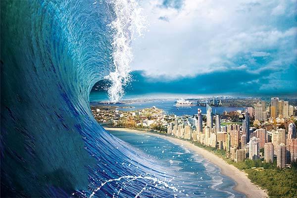 Сонник цунами