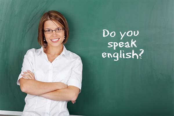 Учительница английского языка