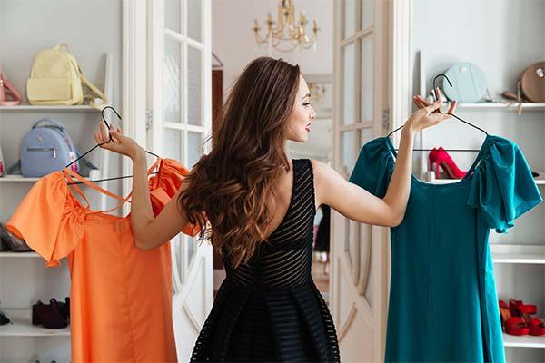 Какого цвета мерили одежду