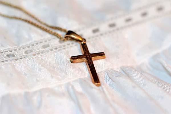 Золотой крест во сне