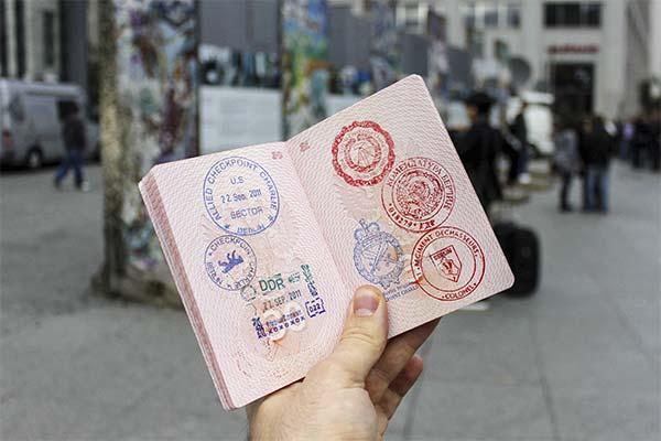 Печать в паспорте