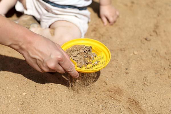 Песок во сне