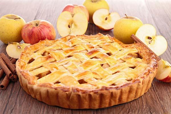 Пирог с яблоками во сне
