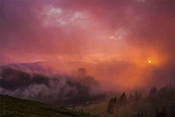 Красный туман во сне