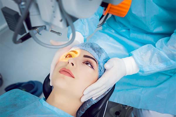 Операция на глаза во сне
