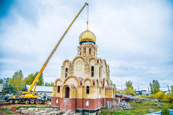 Стройка церкви во сне