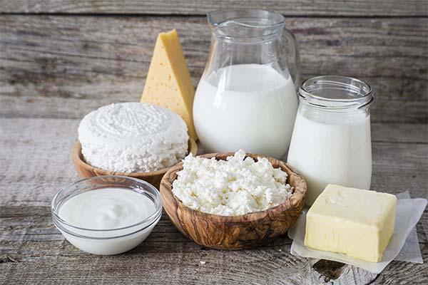 Творог и молоко во сне