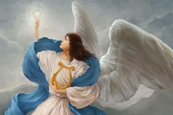Ангел во сне