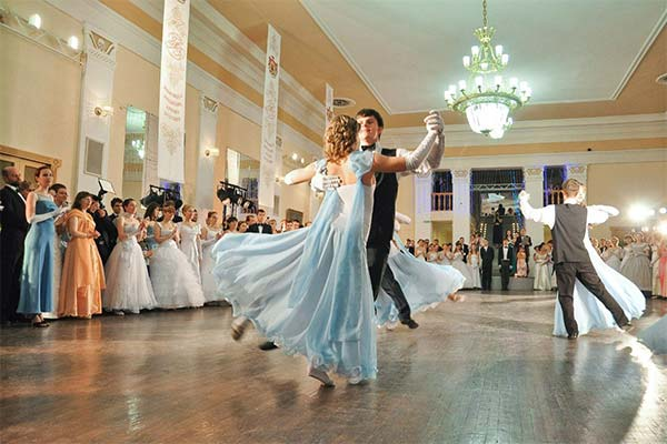 Танец на балу во сне