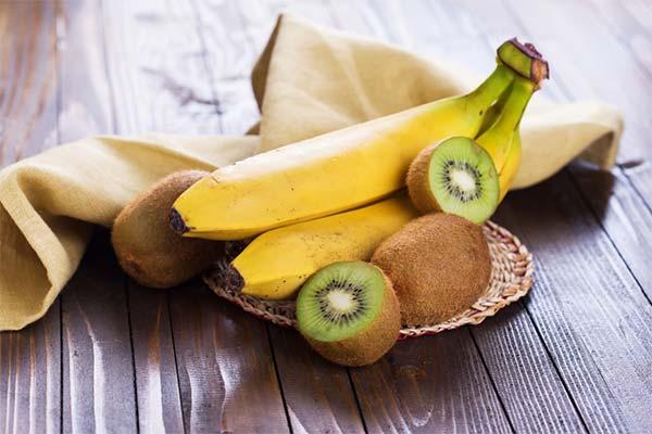Бананы и киви во сне