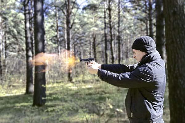 Стрельба в лесу