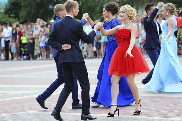 Танцевать на выпускном
