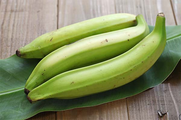 Зеленые бананы во сне