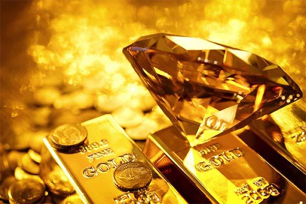 Бриллианты и золото во сне