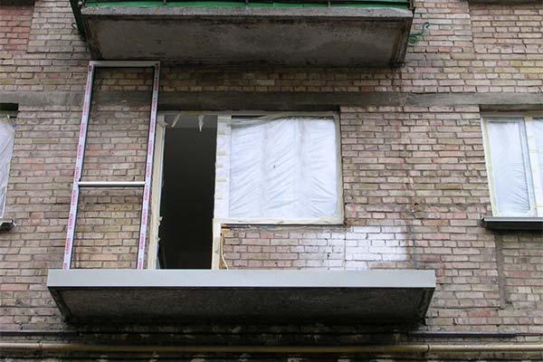 Сонник балкон без перил