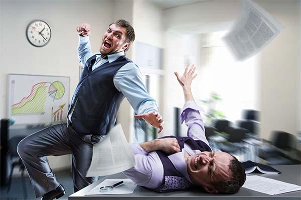 Сонник драться с начальником