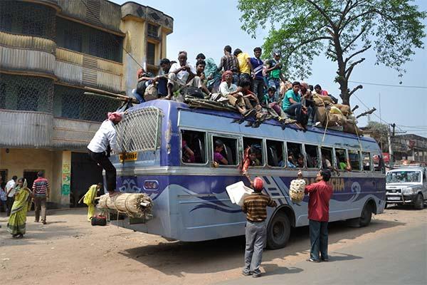 Сонник ехать на крыше автобуса