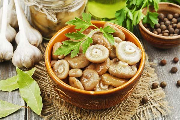 Сонник есть маринованные грибы