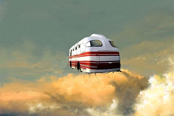 Сонник летающий автобус
