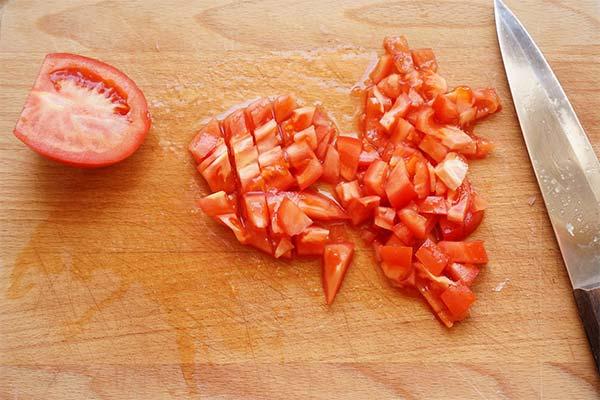 Сонник нарезанные помидоры