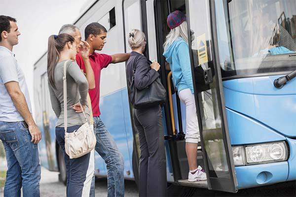 Сонник садиться в автобус