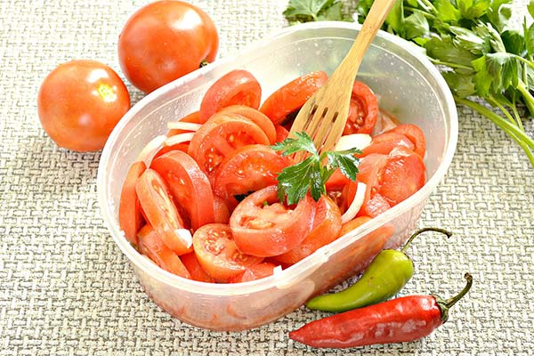 Сонник салат из помидор