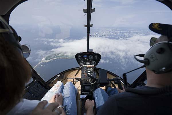 Лететь на вертолете