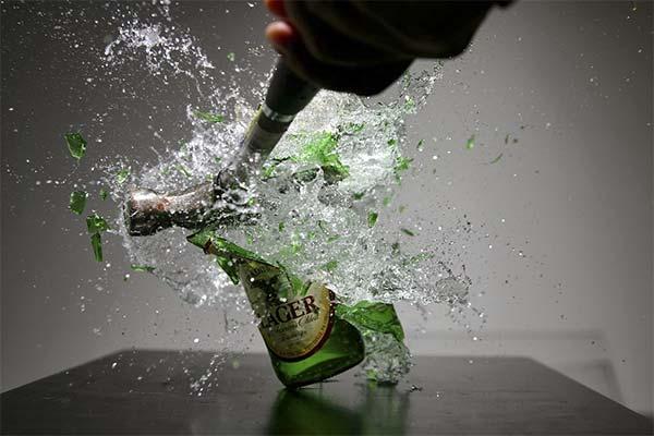 Сонник бить бутылки