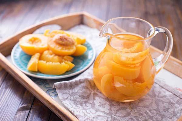 Сонник компот из персиков