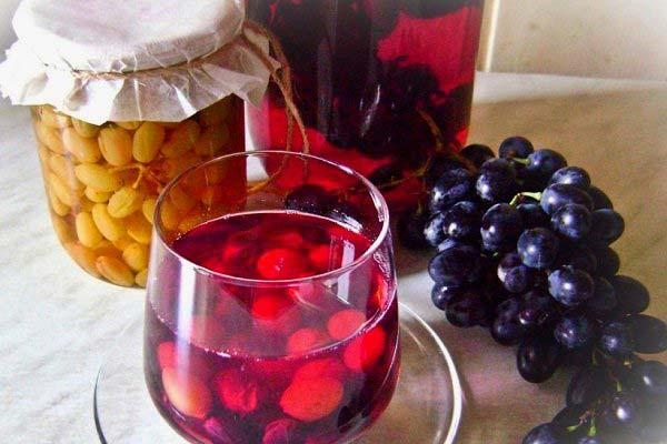 Сонник компот из винограда