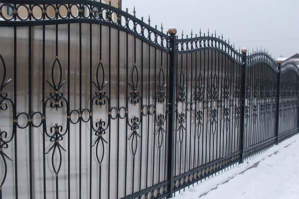 Сонник кованый забор