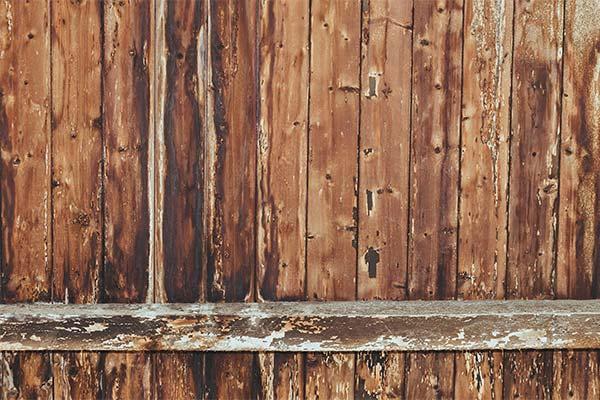 Сонник забор из гнилых досок