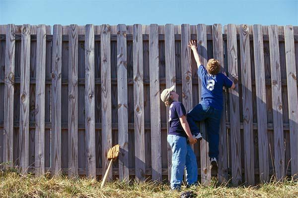 Сонник забраться на забор