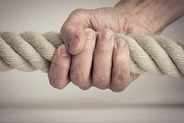 Веревка в руках