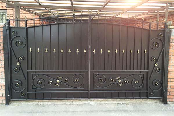 Черные ворота