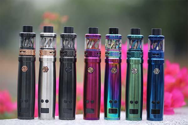Много электронных сигарет