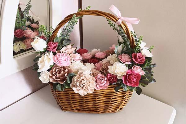 Сонник корзина с цветами