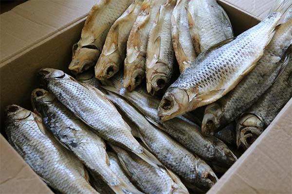 Сонник покупать сушеную рыбу